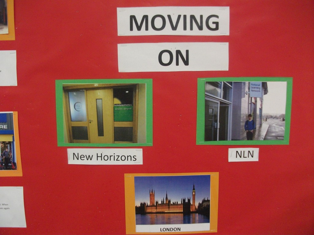 The students are moving on in September to various training centres, like The National Learning Network and New Horizons.