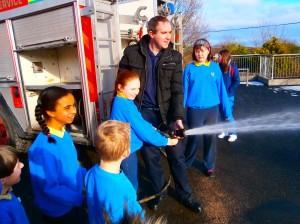 Letterkenny Fire Brigade visit February 2015